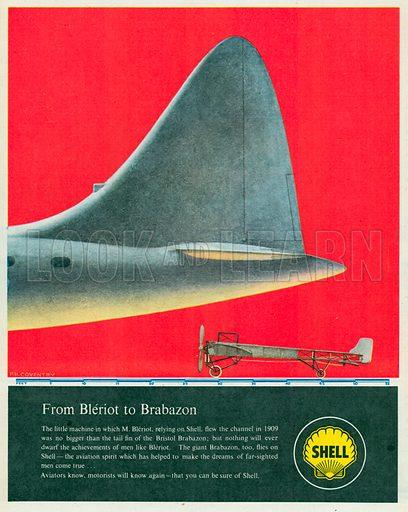 Shell Advertisement, 1950.