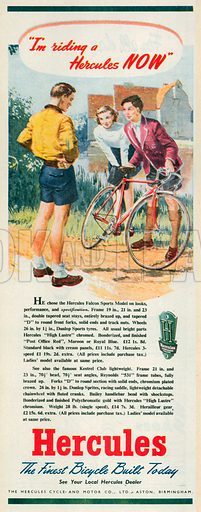Hercules Advertisement, 1950.