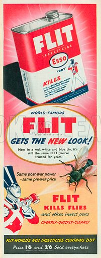Flit Advertisement, 1950.