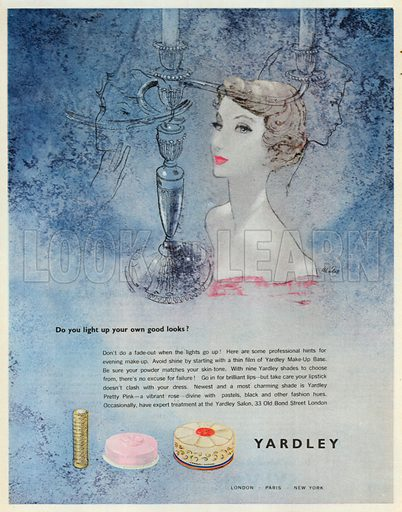 Yardley Advertisement, 1950.