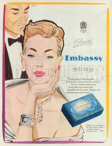 Embassy Soap Advertisement, 1949.