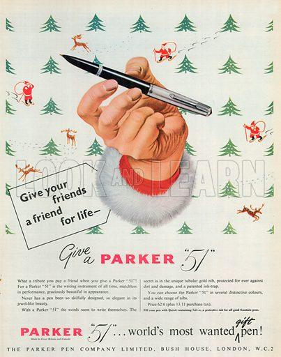 Parker '51' Advertisement, 1949.