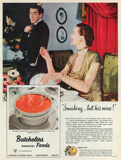 Batchelors Advertisement, 1951.