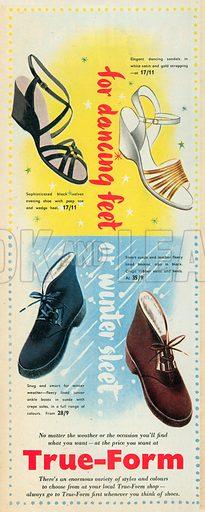 True-Form Advertisement, 1953.