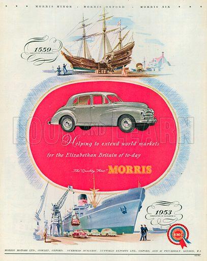 Morris Advertisement, 1953.