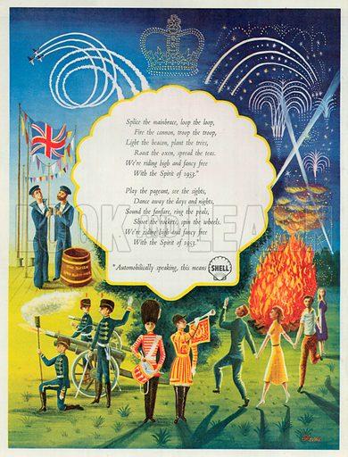 Shell Advertisement, 1953.