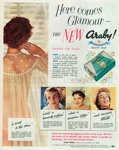 Araby Advertisement, 1953.