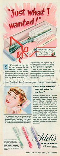 Addis Advertisement, 1950.