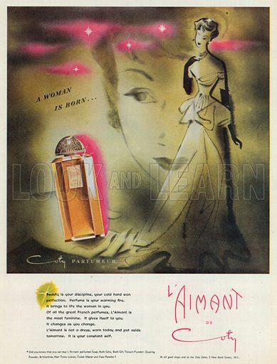 L'Aimant de Coty Advertisement, 1950.