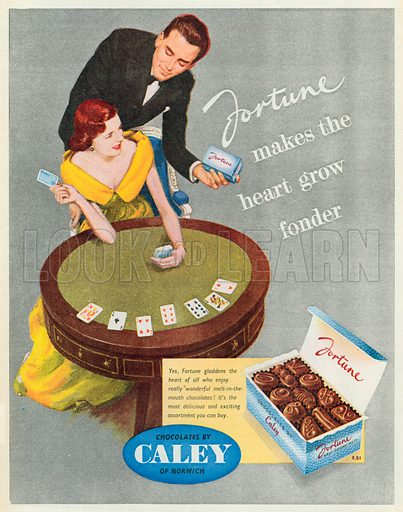 Fortune Advertisement, 1950.