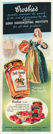 Croslie's Advertisement, 1950.