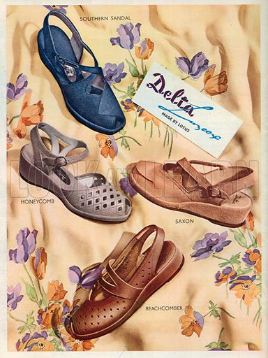 Delta Advertisement, 1950.