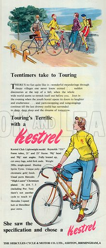 Kestrel Advertisement, 1950.