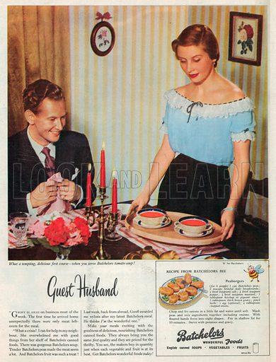 Batchelors Advertisement, 1950.