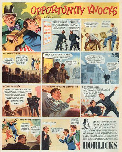 Horlicks Advertisement, 1950.