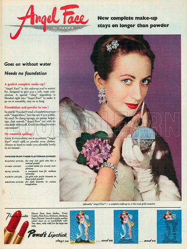 Angel Face Advertisement, 1951.