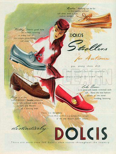 Dolcis Advertisement, 1950.
