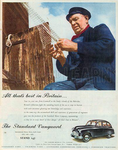 The Standard Vanguard Advertisement, 1950.