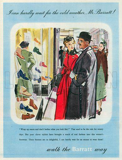 Barratt Advertisement, 1950.