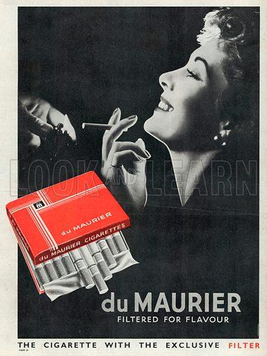 Du Maurier Advertisement, 1950.