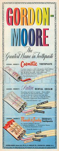 Gordon Moore Advertisement, 1950.