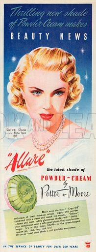 Potter & Moore Advertisement, 1950.