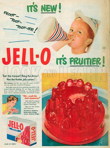 Jell-O Advertisement, 1953.
