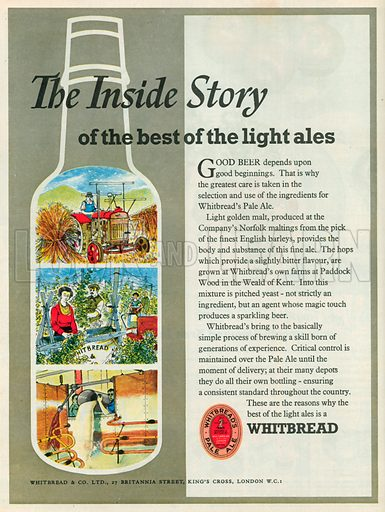 The Inside Story Advertisement, 1953.