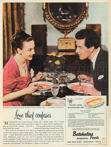 Batchelors Advertisement, 1950.