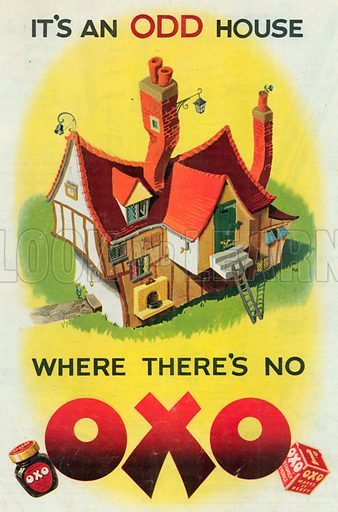 Oxo Advertisement, 1950.