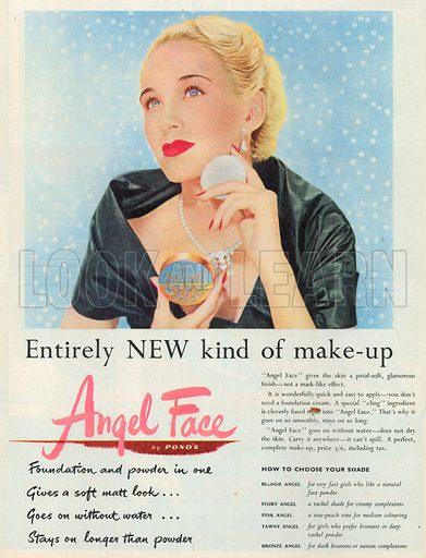 Angel Face Advertisement, 1950.