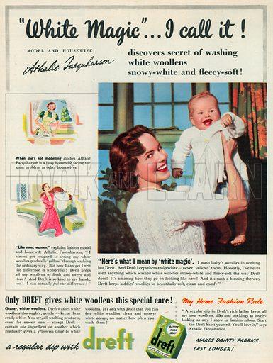 Dreft Advertisement, 1950.