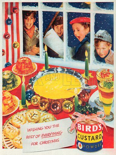Bird's Custard Powder Advertisement, 1952.