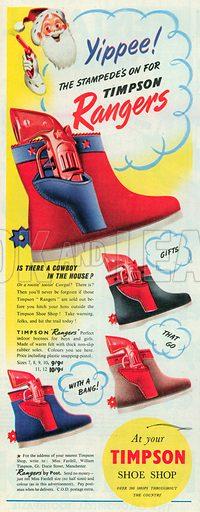 Timpson Advertisement, 1952.