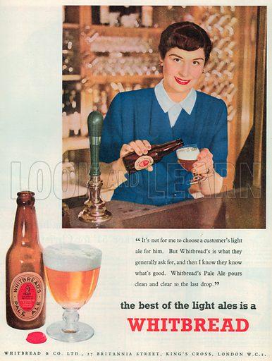 Whitbread Advertisement, 1952.