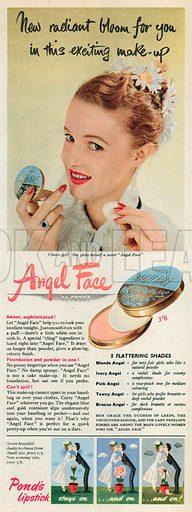 Angel Face Advertisement, 1952.