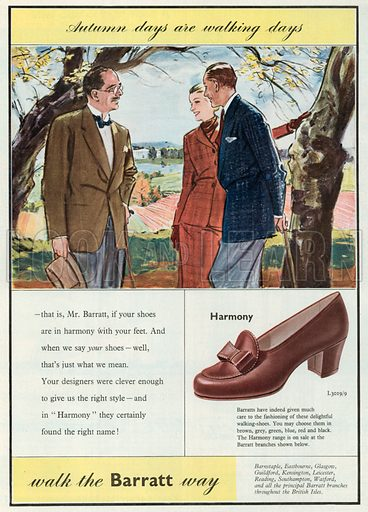 Barratt Advertisement, 1952.