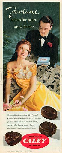 Fortune Advertisement, 1952.