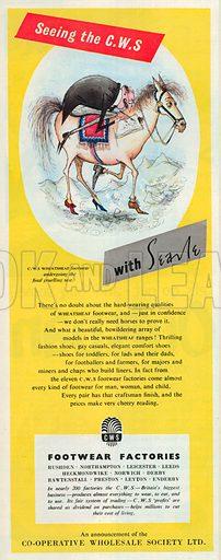 C. W. S. Advertisement, 1952.