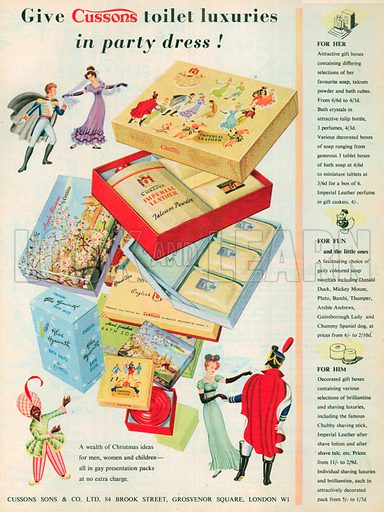 Cussons Advertisement, 1953.