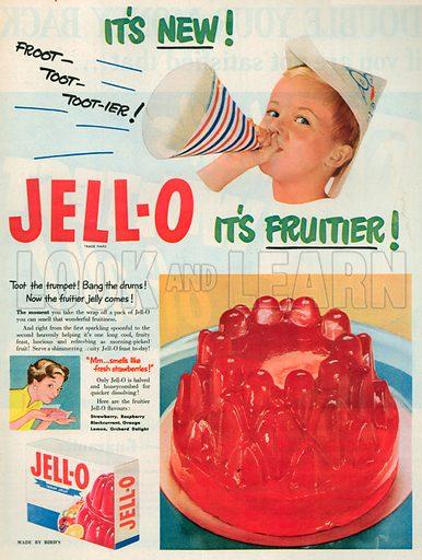 Jell-O Advertisement, 1950.