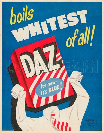 Daz Advertisement, 1953.
