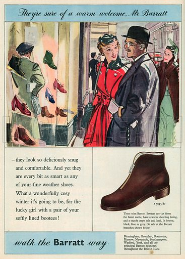 Barratt Advertisement, 1953.