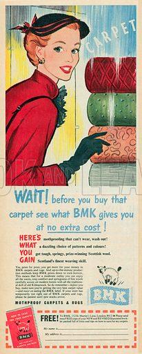BMK Advertisement, 1953.