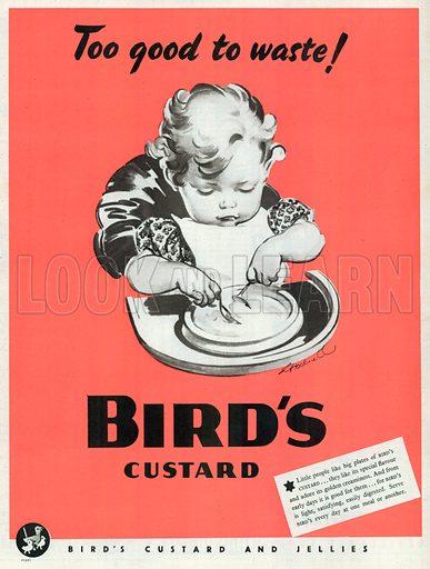 Bird's Custard and Jellies Advertisement, 1941.