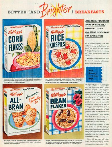 Kellogg's Advertisement, 1953.