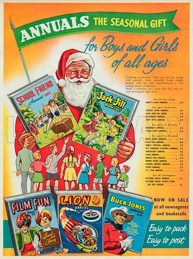Annuals Advertisement, 1956.