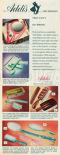 Addis Advertisement, 1956.