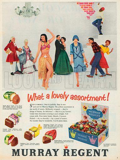 Murray Regent Advertisement, 1956.