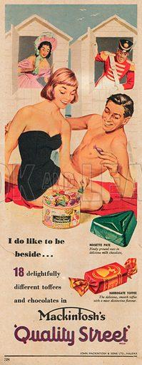 Mackintosh's Quality Street Advertisement, 1956.